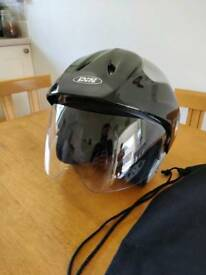 Ladies IXS Motorcycle Helmet with flip-up visor