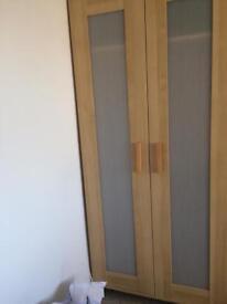 Wardrobes x2 drawers Mirrow
