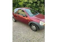Ford ka 53 reg, only 60,000 genuine miles, lady owned, long mot, drives great, brilliant on petrol