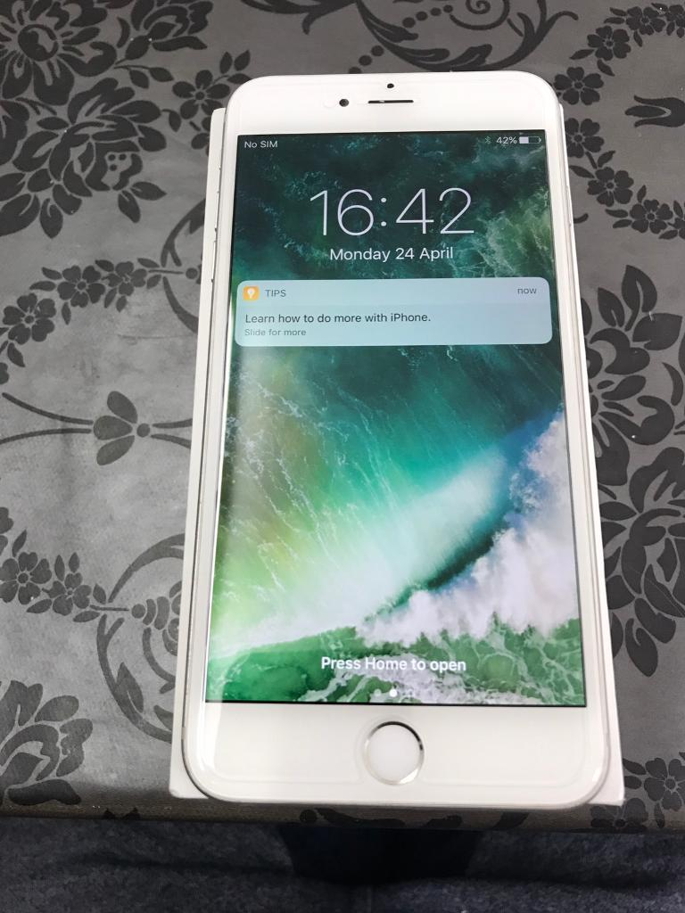 IPhone 6 Plus 16 GB Mint Silver unlockedin East Ham, LondonGumtree - IPhone 6 Plus 16 GB Mint Silver unlocked Perfect mobile with good condition no scratch on screen. Very good battery timing Comes with charger Mint conditionGood for giftThanks for looking