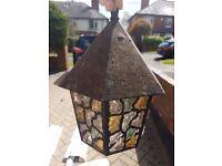 Porch light pendant