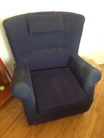 Ikea Blue Armchair - £15.00