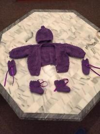 Baby woollen set