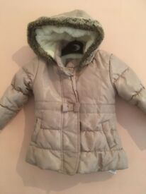 18-24 Months Bluezoo (debenhams) Coat girls