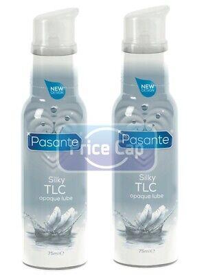 2X Pasante Lubricantes Silky Tlc Opaco Lubricante 75ml Lubricantes Botellas