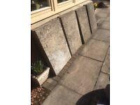 Paving slabs 3 x 2 used.