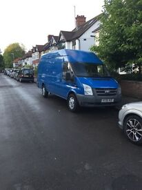 BLUE FORD TRANSIT JUMBO 2.4 TDCI 6 SPEED 115 ELWB RWD FOR SALE - 12 MONTHS MOT