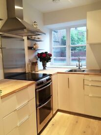 Beautiful newly refurbished spacious one bed flat with garden in Canning Crescent.
