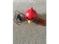 Angry birds docking speaker