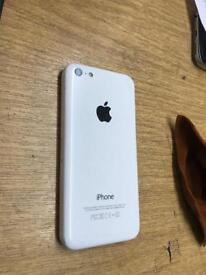Iphone 5c White 16gb Factory Unlocked with Box