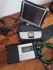 Mercedes STAR C5 SD Diagnostic Panasonic laptop Xentry Vediamo