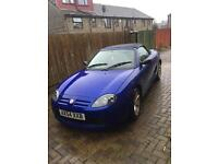 MG TF Covertible 1.6L - With Hard Top