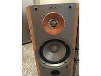 sony ss-nx1 loudspeakers