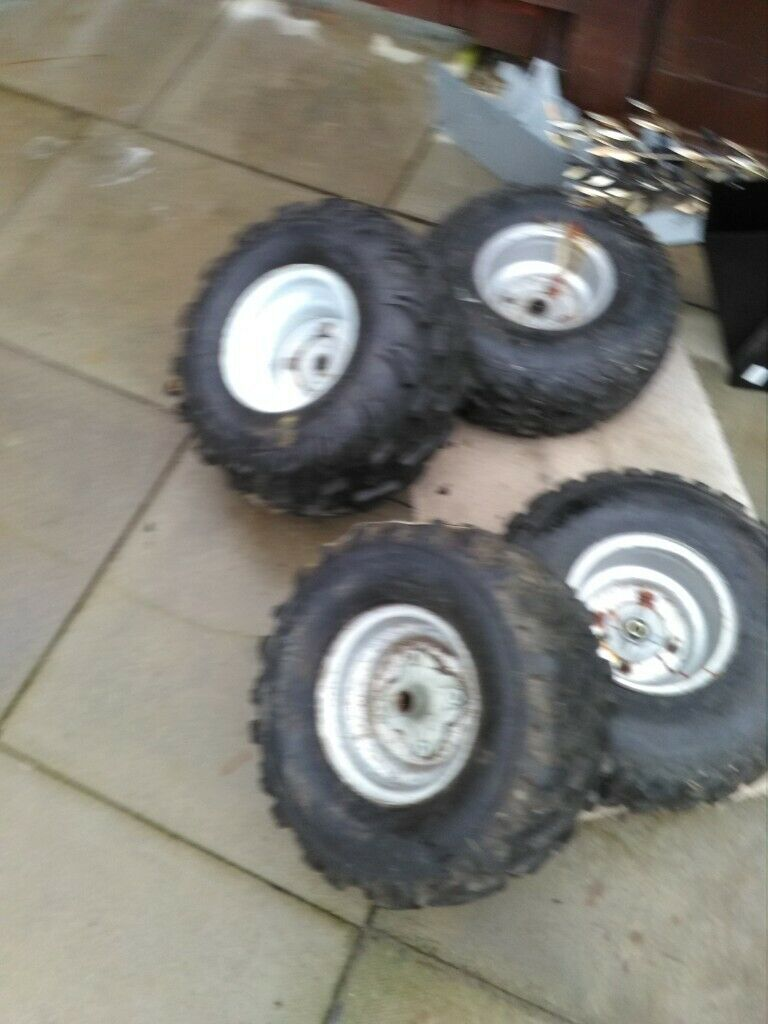 ATV QUAD BIKE WHEELS & TYRES x4 FRONT