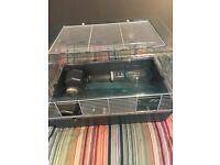 Cage for hamsters, new in very good condition.