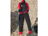 Heavy duty 2 piece wet suit
