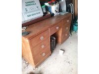 Vintage Pine Desk