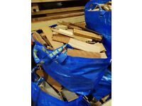 Large bags of KINDLING £8 each or 3 for £20- ideal for wood burners/log fires/coal fires to start up