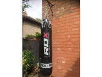 RDX Punch Bag with bracket.