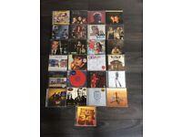 25 various music cds