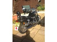 AJS 125 cruiser spares or repair 65 plate