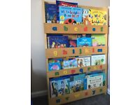 'Tidy books' children's book case