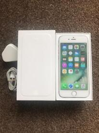 IPhone 6 16gb silver unlocked to any network