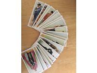 Players cigarette card set 'Coronation' series.