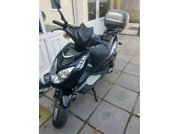 Motorbike moped 125cc 2014plate