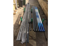 Diawa strong beam pole with 14 top kits