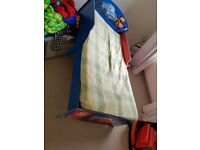 Lighting Mcqueen Kid Bed (withh mattress) £50 only