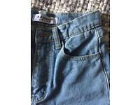Jeans high waisted vintatage stil