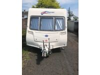 Bailey pageant monarch series 6 2007 2 berth caravan