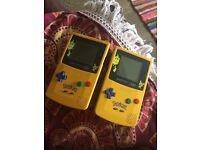 GameBoy Color Pokemon Edition x2