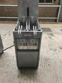 Commercial catering equipment restaurant valentine chips fryer cafe shop chips fryer
