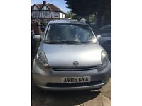 Daihatsu Sirion 1L Manual Silver Hatchback New Clutch Low Mileage
