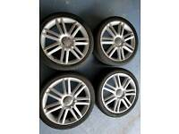 Genuine audi vw alloy wheels 5x112 18 inch