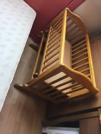 Crib in good condition £10 (no mattress)