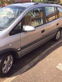 Vauxhall zafria breaking