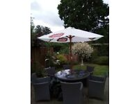 Fantastic large Stella garden umbrella.