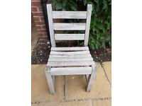 Wooden garden chair Teak