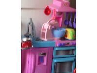 Chad valley pink kitchen