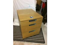 Drawer Unit with combination lock.
