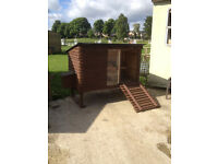 New chicken coop, suitable for 4 - 5 chickens