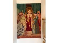 'Jesus In The Temple' Tapestry