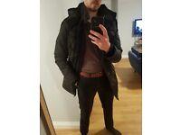 Lovely warm Mens ZARA Jacket, worn but in great condition; (size medium)