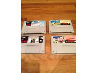 SNES - Super Nintendo games