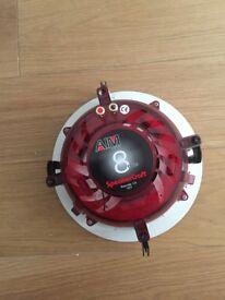 "SpeakerCraft Profile AIM8 TWO 8"" AIM Series In-Ceiling Speakers (Pair)"