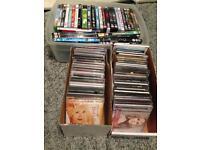 DVDs, CDs various