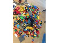 Massive Lego duplo and mega blocks